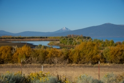View of the Cascades from Modoc Road.