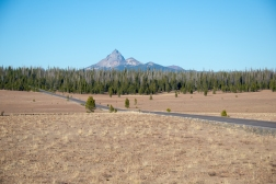 Lovely Mt Thielsen from near the North Entrance.