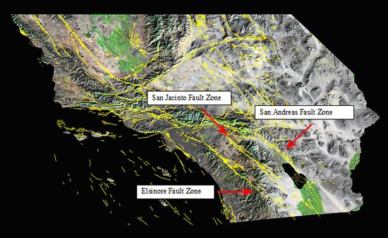 Faults Anza Borrego